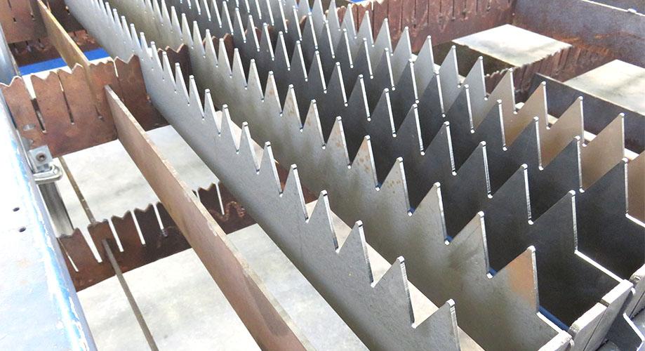 Konstrukcje stalowe: Gięcie metalu