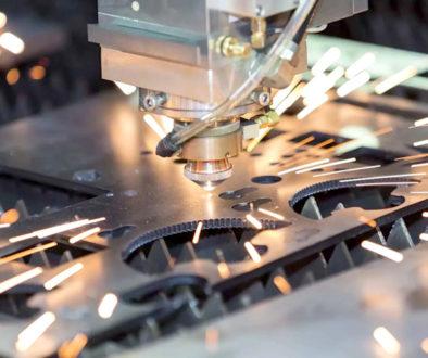 Laserowe cięcie metalu